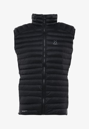 ESSENS MIMIC VEST MEN - Waistcoat - true black