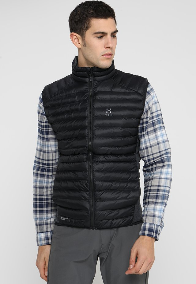 ESSENS MIMIC VEST MEN - Väst - true black