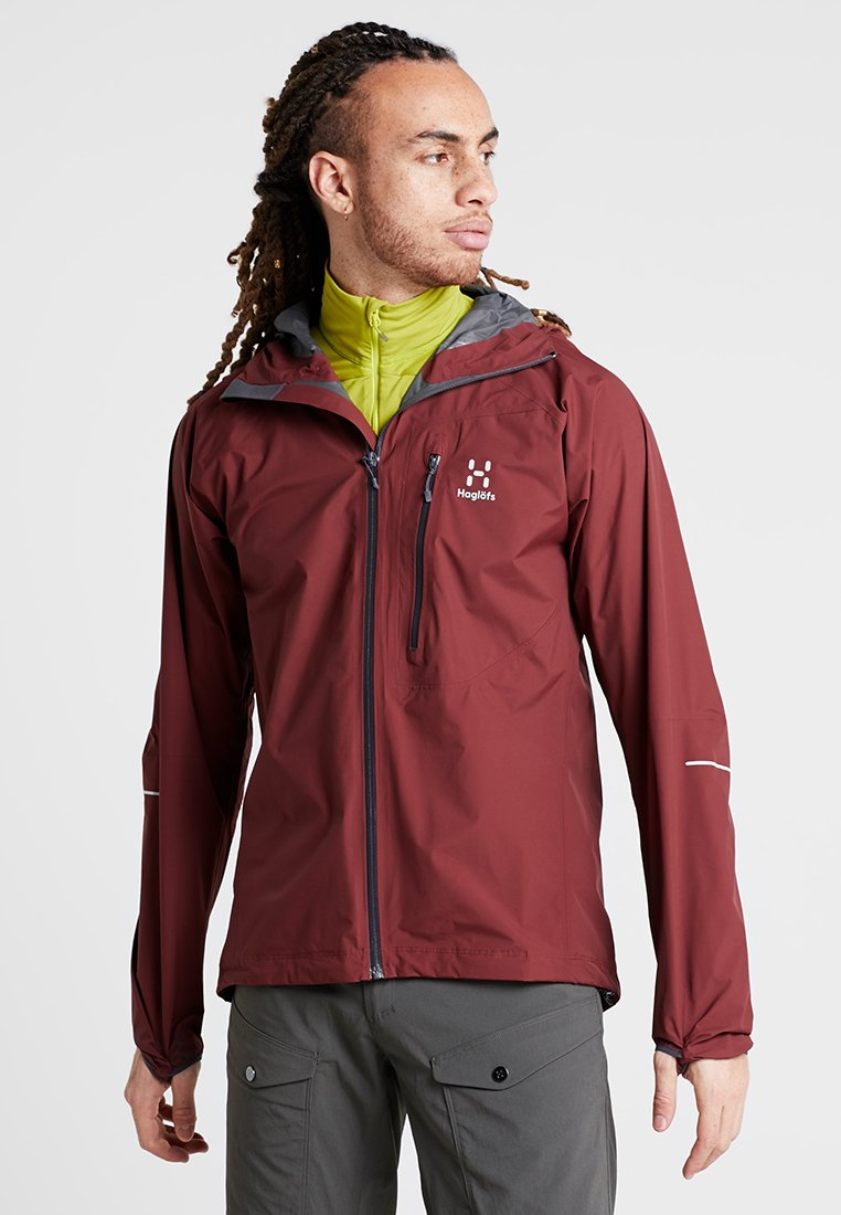 Haglöfs - LIM JACKET MEN - Hardshelljacke - maroon red