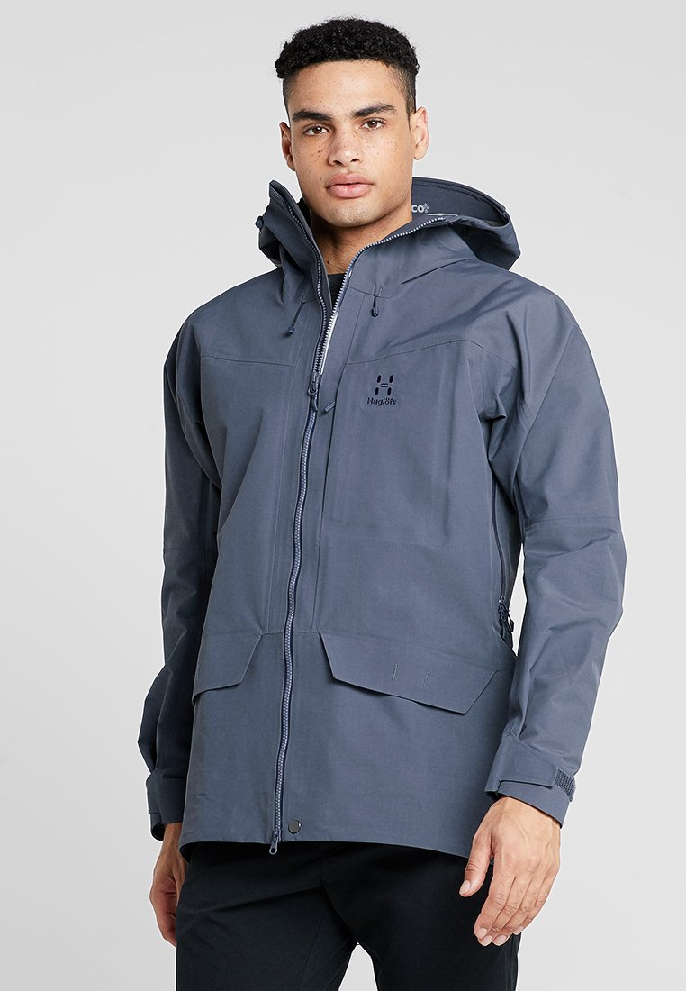 Haglöfs - GRYM EVO JACKET MEN - Hardshell jacket - dense blue