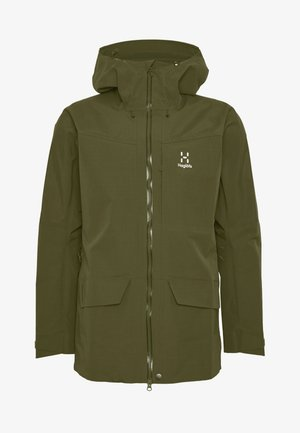 GRYM EVO JACKET MEN - Hardshelljacka - deep woods