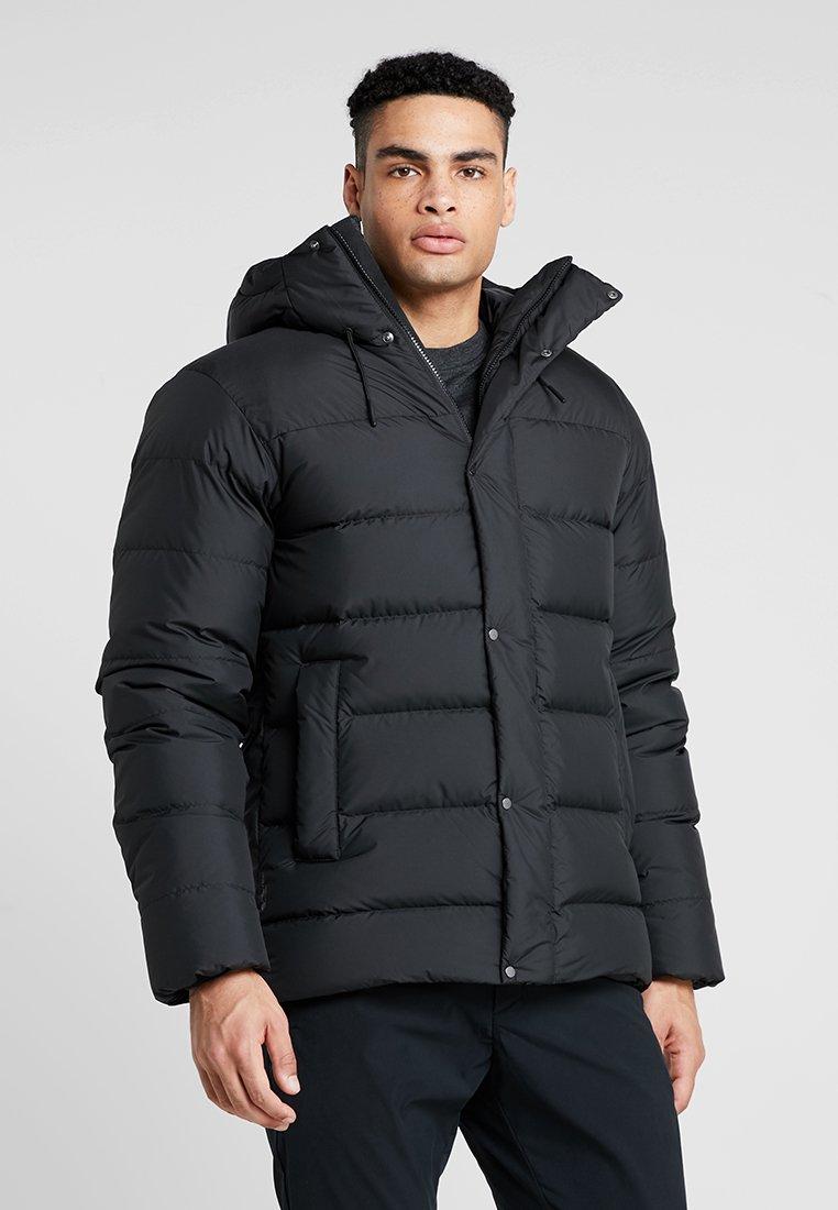 Haglöfs - NÄS JACKET MEN - Down jacket - true black