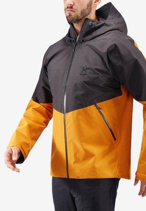 Regenjacke / wasserabweisende Jacke - desert yellow/slate