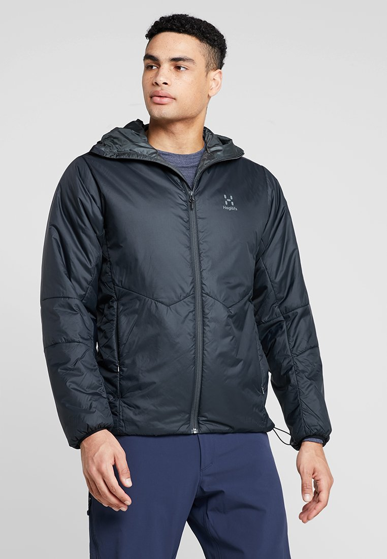 Haglöfs - BARRIER NEO HOOD MEN - Outdoorjacke - slate