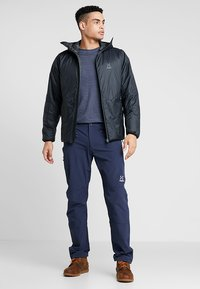 Haglöfs - BARRIER NEO HOOD MEN - Outdoorjacke - slate - 1