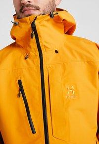 Haglöfs - NENGAL 3L PROOF PARKA MEN - Ski jas - desert yellow/true black - 6