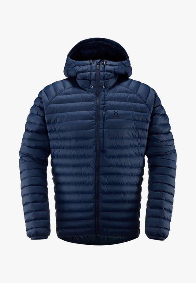 HAGLÖFS ISOLATIONSJACKE ESSENS MIMIC HOOD MEN - Löparjacka - blue