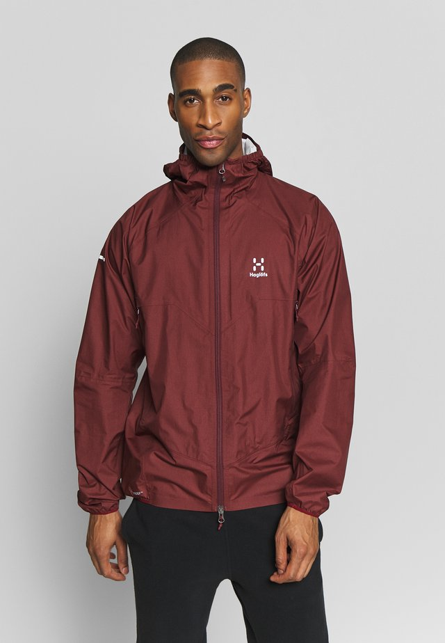 L.I.M PROOF MULTI JACKET MEN - Sadetakki - maroon red