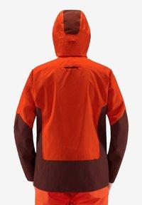 Haglöfs - HAGLÖFS SKIJACKE NENGAL JACKET MEN - Snowboard jacket - orange - 1