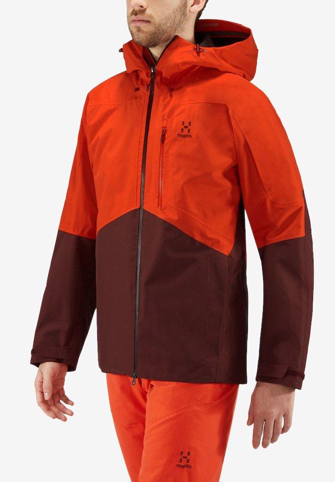 Haglöfs - HAGLÖFS SKIJACKE NENGAL JACKET MEN - Snowboard jacket - orange