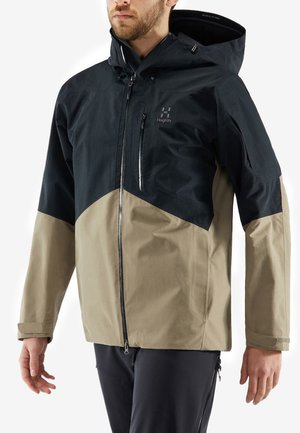 HAGLÖFS SKIJACKE NENGAL JACKET MEN - Snowboard jacket - true black/dune