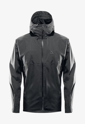HAGLÖFS REGENJACKE VIRGO JACKET MEN - Outdoor jacket - true black