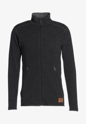Fleece jacket - magnetite