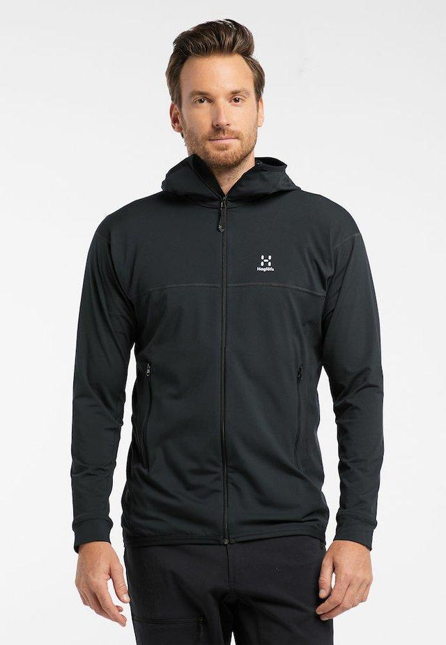 Fleece jacket - true black