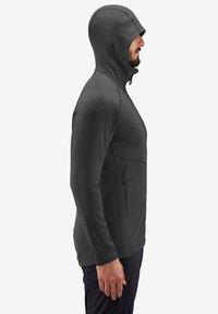 Haglöfs - HERON HOOD MEN - Fleece jacket - slate solid - 2