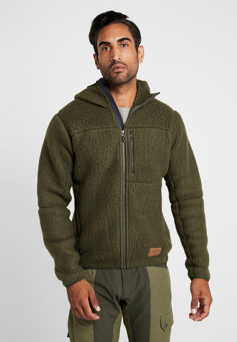 Haglöfs - PILE HOOD MEN - Fleece jacket - deep woods