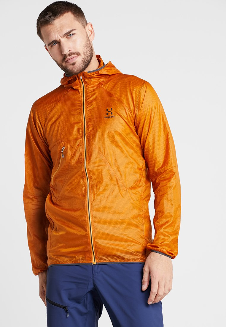 Haglöfs - SHIELD COMP HOOD MEN - Outdoor jacket - desert yellow