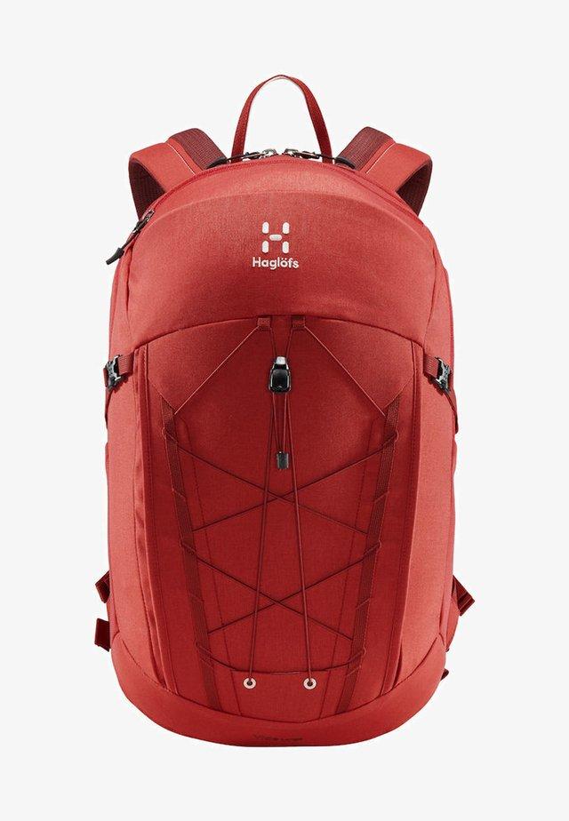 HAGLÖFS WANDERRUCKSACK VIDE LARGE - Backpack - brick red