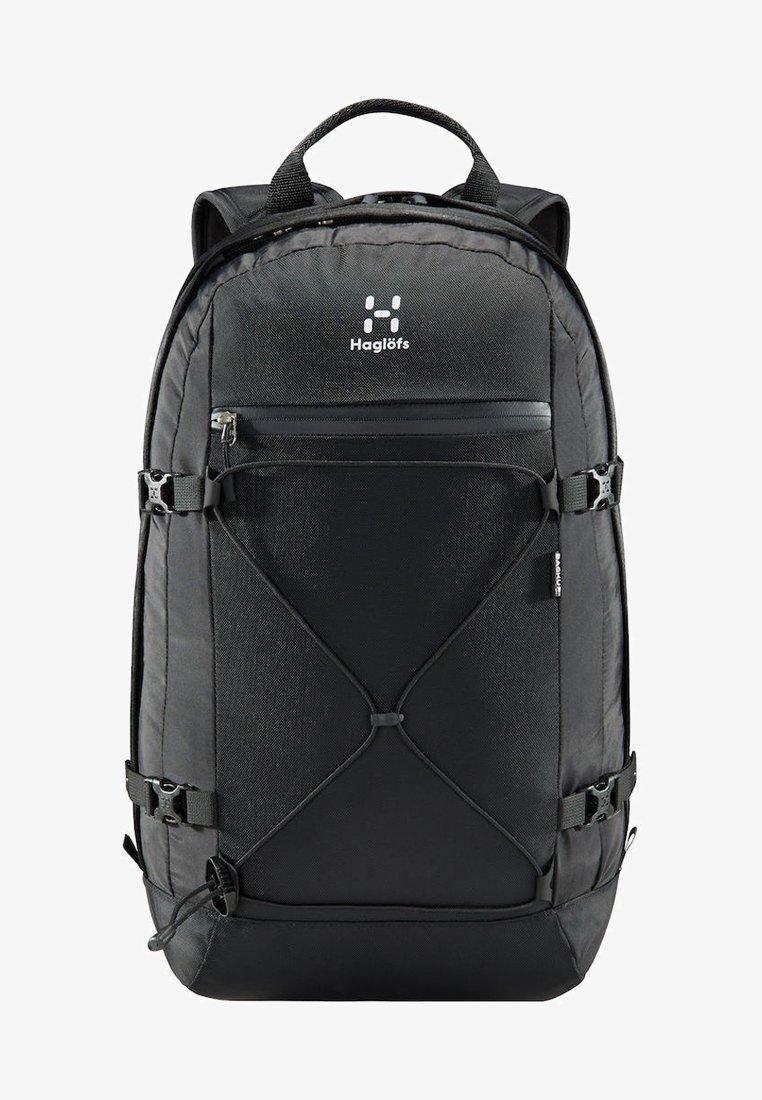 Haglöfs - HAGLÖFS WANDERRUCKSACK BACKUP 17 INCH - Hiking rucksack - true black