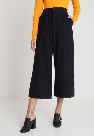 USE TROUSER - Shorts - dark navy