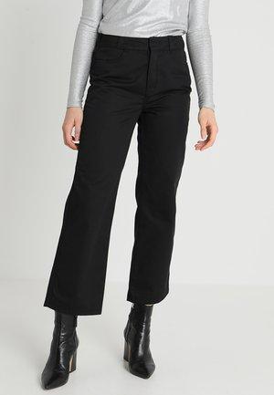ZONE TROUSER - Kalhoty - black