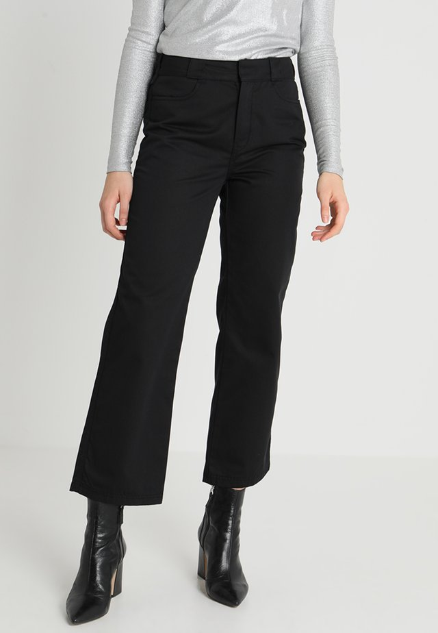 ZONE TROUSER - Trousers - black