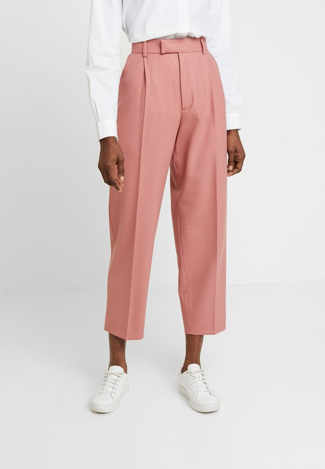 ALTA TROUSERS - Trousers - pink