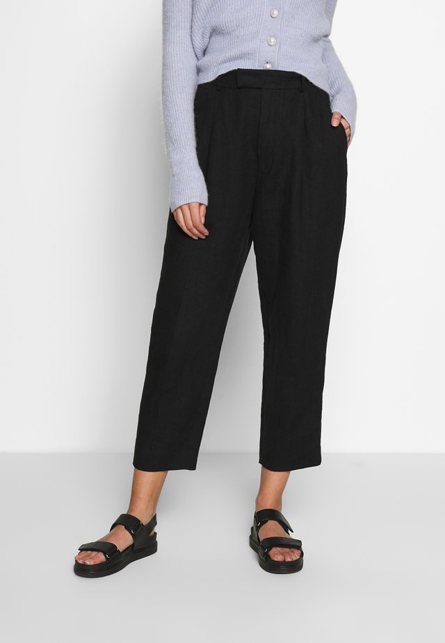 ALTA TROUSER - Trousers - black
