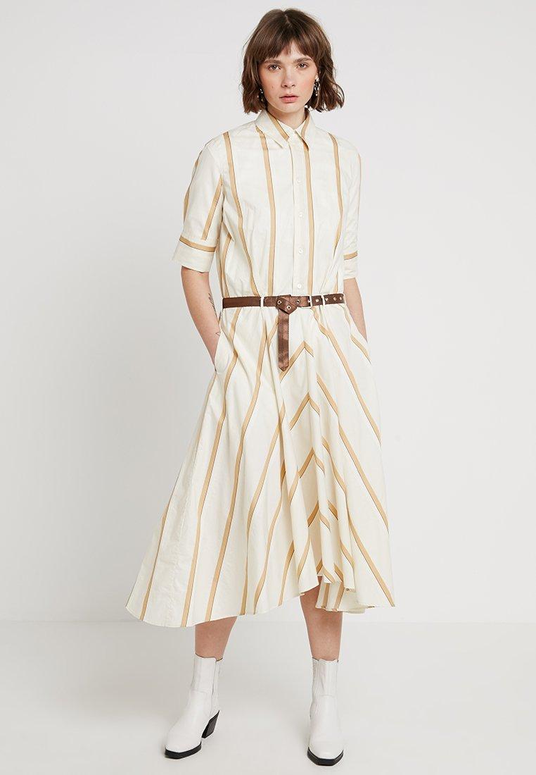 Hope - CLOCK DRESS - Shirt dress - beige
