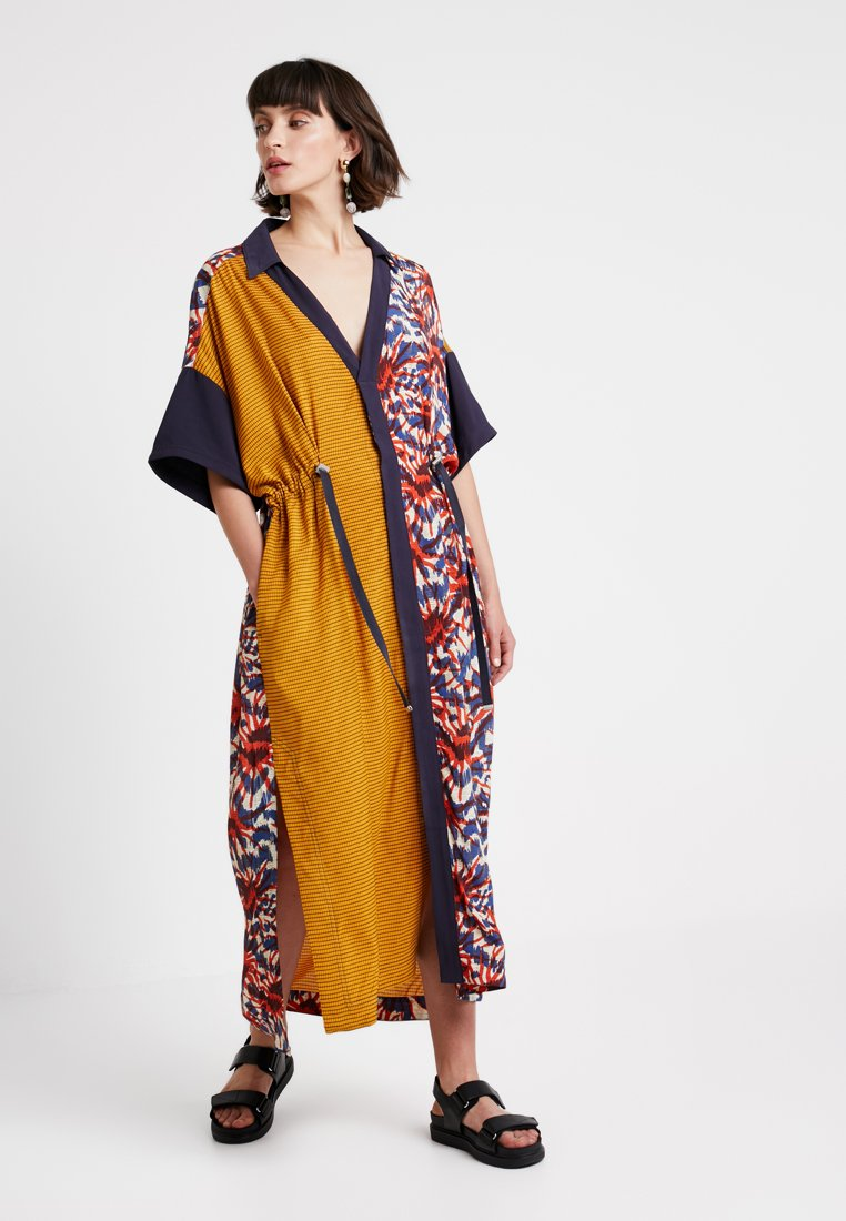 Hope - SOUK KAFTAN - Maxikjole - orange/blue