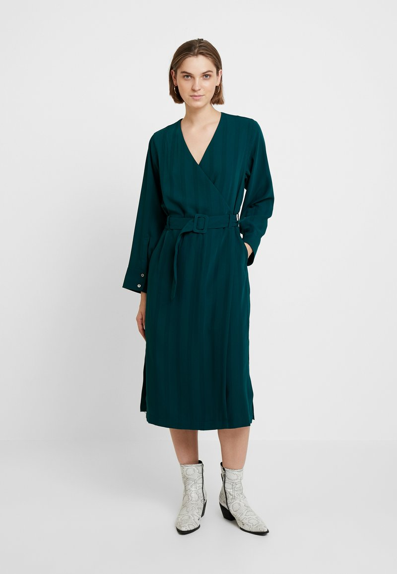 Hope - SLASH DRESS - Robe d'été - deep green