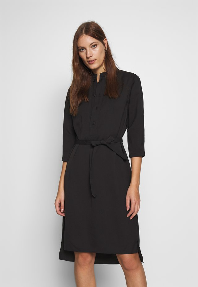 FLEX DRESS - Shirt dress - black