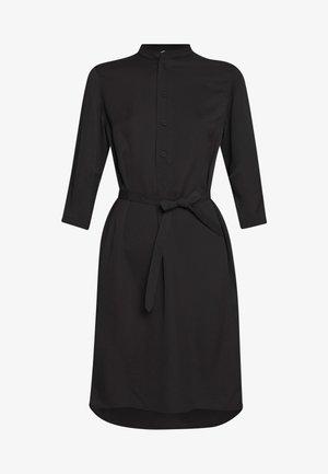 FLEX DRESS - Košilové šaty - black