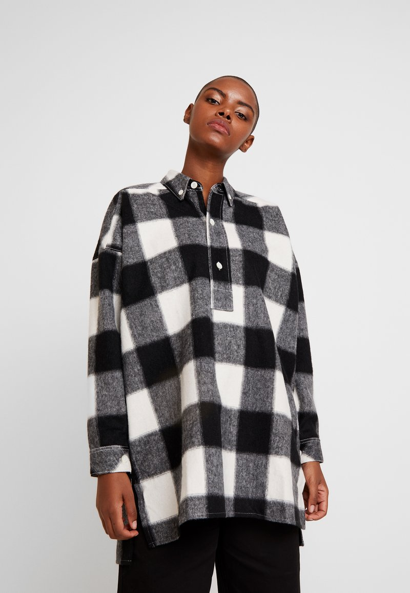 Hope - PITCH - Skjorta - offwhite check