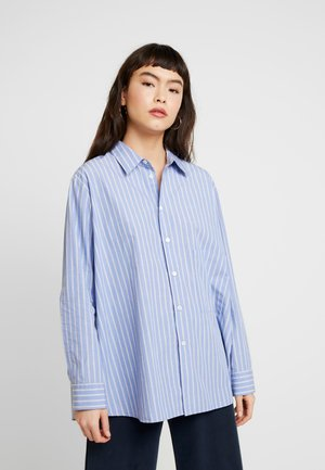 ELMA - Button-down blouse - grey