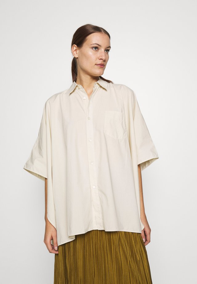 BAT - Button-down blouse - soft beige
