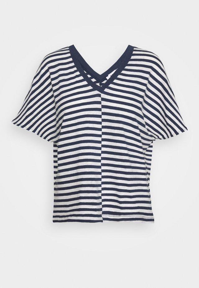 DROP - T-shirt print - navy