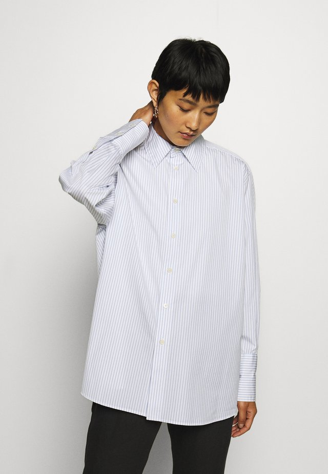 TRIP - Button-down blouse - blue