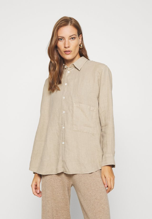ELMA - Button-down blouse - beige