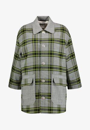 Abrigo corto - green check