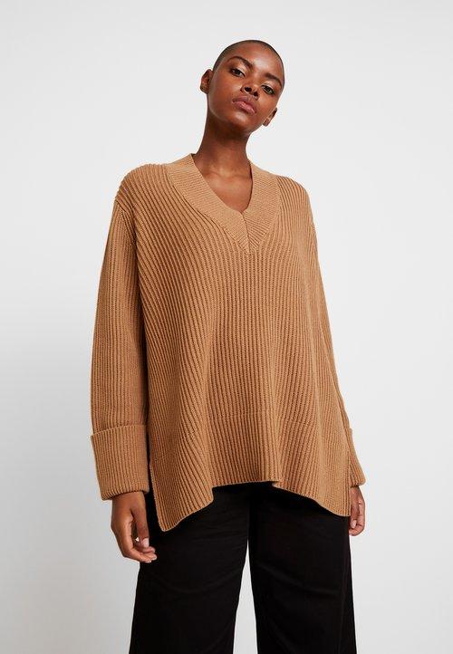 Stała usługa Hope MOON - Sweter - beige Odzież Damska CTEO-SB1