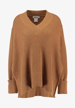 MOON - Sweter - beige