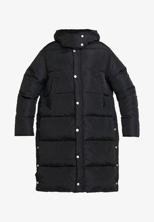 DUVET COAT - Abrigo de invierno - black