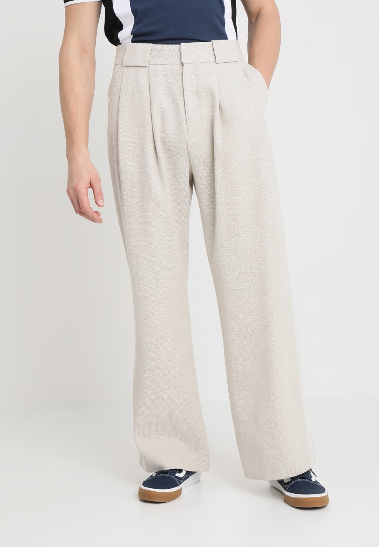Hope - BRAG TROUSER - Stoffhose - nature