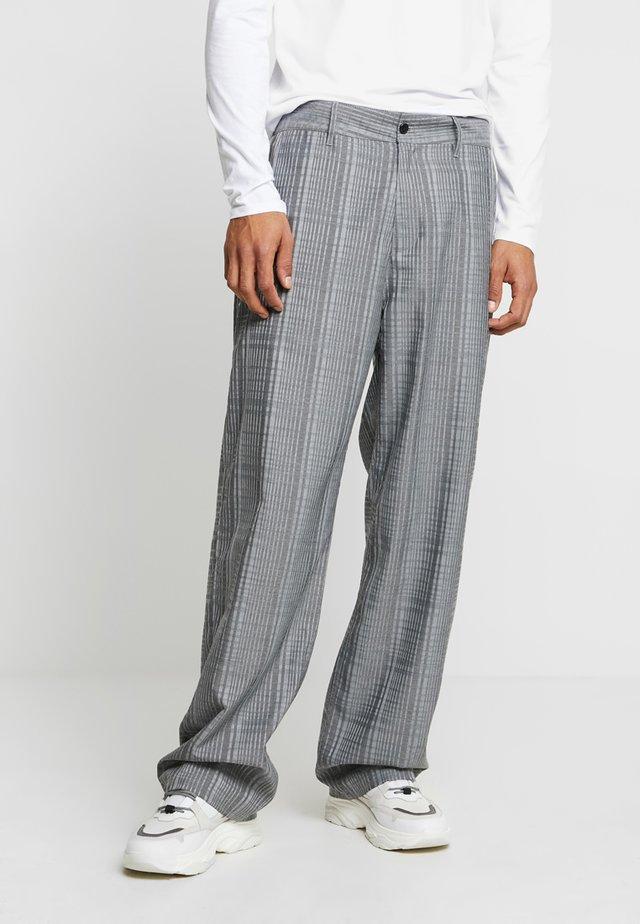 WIND TROUSER - Trousers - dark grey