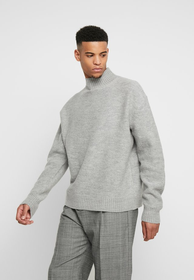 BOLD - Pullover - light grey melange