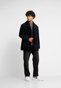 Hope - TIDE COAT - Kort kappa / rock - dark blue - 1