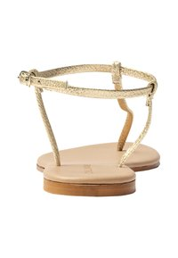 HALLHUBER - Ankle cuff sandals - gold - 3