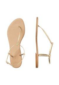 HALLHUBER - Ankle cuff sandals - gold - 2