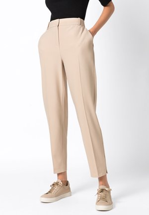 Pantalon classique - milchkaffee